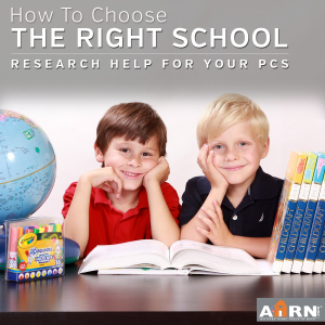 How-To-Choose-The-Right-School with AHRN.com