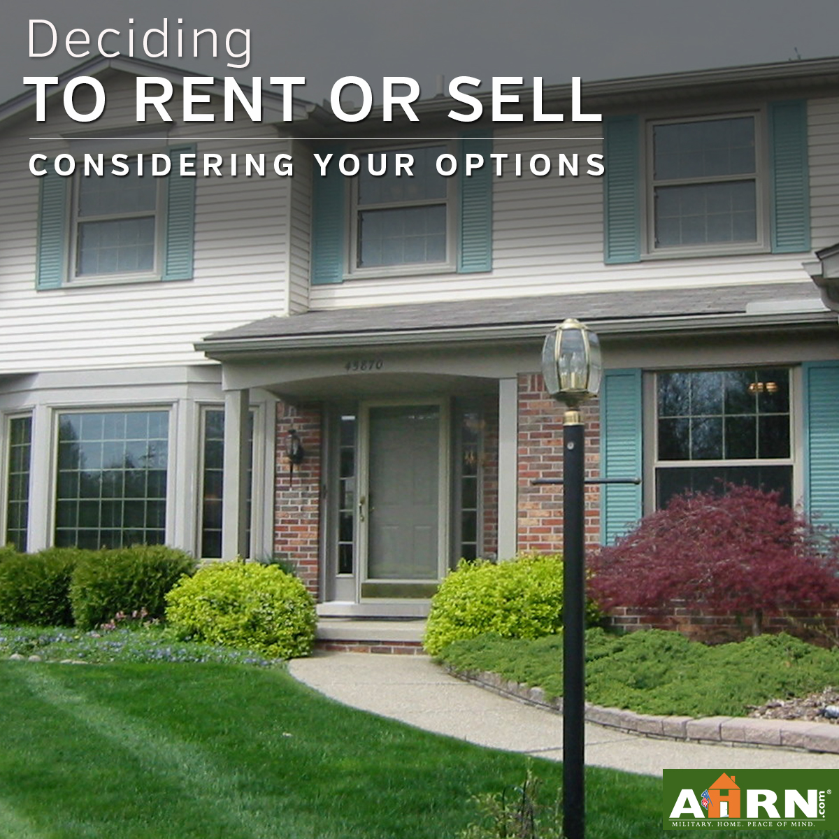 how to decide to rent or sell your home