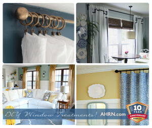 DIY Window Treatments with AHRN.com