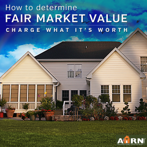 How to determine the fair market value for your home with AHRN.com