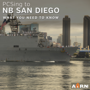 PCSing to Naval Base San Diego? Here's what you need to know with AHRN.com