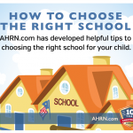 How To Choose The Right School Infographic with AHRN.com