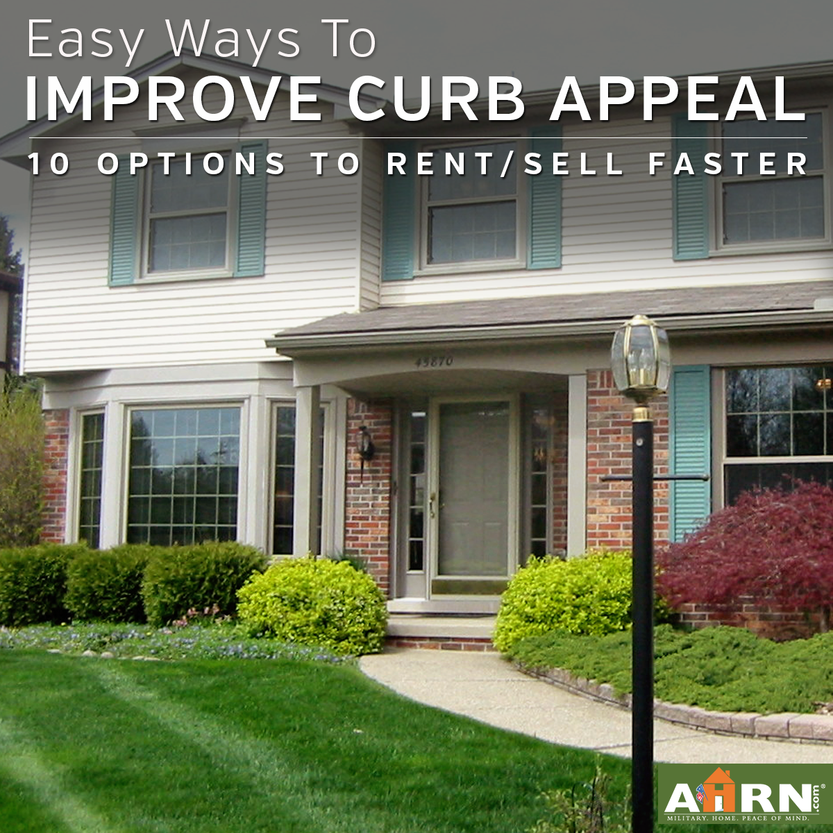 10 Easy Ways To Improve Curb Appeal Ahrn Com
