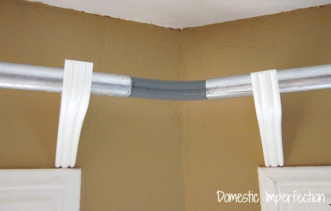 Curved Curtain Rods For Corner Windows Curved Curtain Rods for Arched