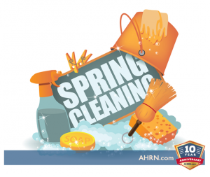 Spring Cleaning For An Easier PCS with AHRN.com
