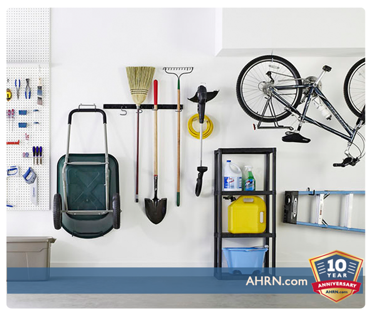 Five Steps To Organizing Your Garage   AHRN.com on wooden workbench kits for garage, how can i hang my garage shelving, space organizing your garage, clean your garage, cleaning out your garage, organize my garage,