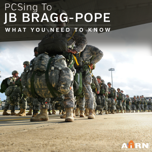 PCSing to Joint Base Bragg-Pope?