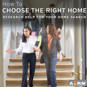 How To Choose The Right Home For Your - research help from AHRN.com