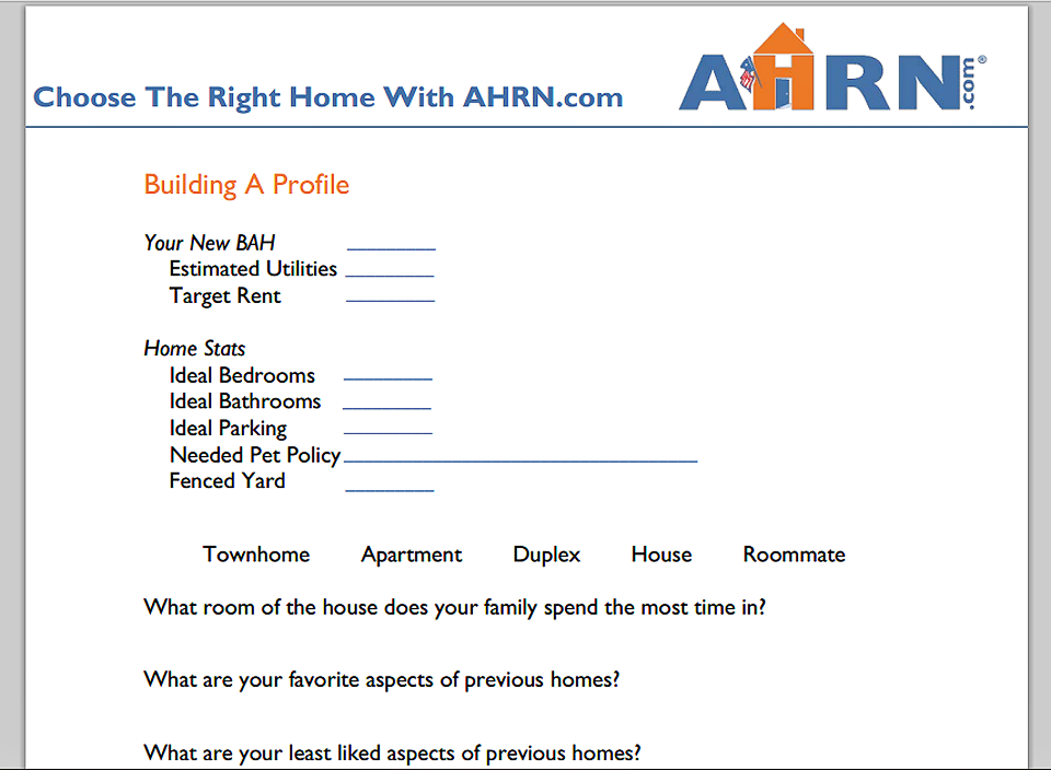 Choose The Right Home with AHRN.com
