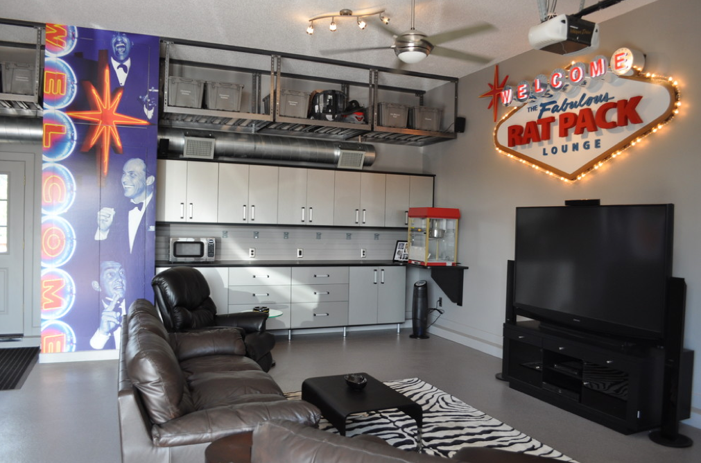 Old Garage Man Cave : A man cave for the military ahrn