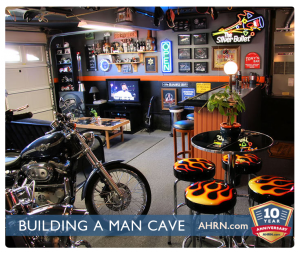 A Man Cave For The Military Man with AHRN.com
