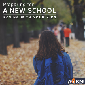 Preparing your military kid for a new school with AHRN.com