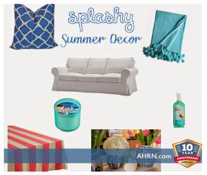 Easy Summer Decor with AHRN.com