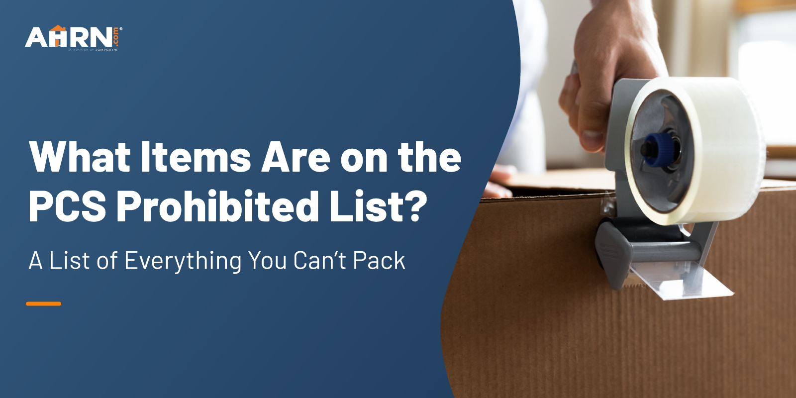 What Items Are on the PCS Prohibited List? A List of Everything You Can't Pack!