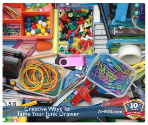 Creative Ways to Tame Your Junk Drawer with AHRN.com