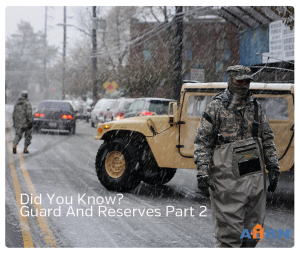 Did You Know? Guard and Reserves Part 2