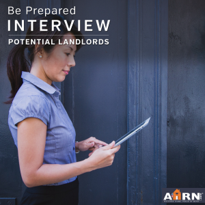 Interview Your Potential Landlord with AHRN.com
