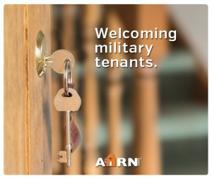 Welcoming Military Tenants on AHRN.com