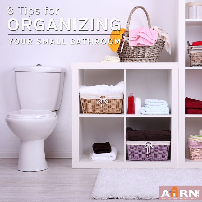 8 tips for organizing your small bathroom Organizing ideas for small bathrooms