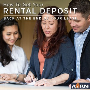 How To Get Your Rental Deposit Back with AHRN.com