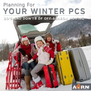Planning For Your Winter PCS with AHRN.com