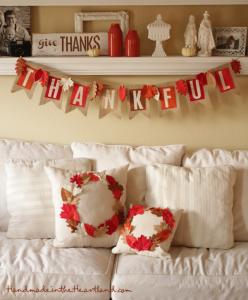 DIY Thanksgiving Decorations on AHRN.com