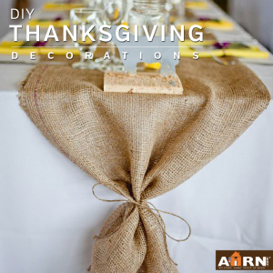 DIY Thanksgiving Decorations with AHRN.com