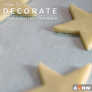 How To Decorate Your Christmas Cookies with AHRN.com