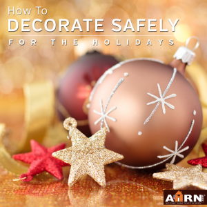 Holiday Decoration Safety with AHRN.com