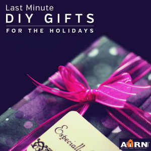 Last Minute DIY GIfts with AHRN.com