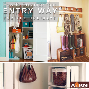 Organize Your Entry Way with AHRN.com