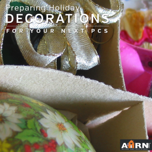 Preparing Holiday Decorations For Your Next PCS with AHRN.com
