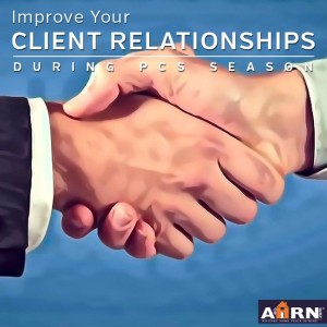 Improve Your Client Relationships During PCS Season with AHRN.com