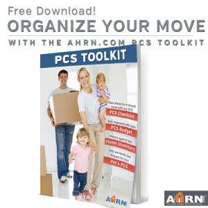 Download your free AHRN.com 2015 PCS Toolkit for your smoothest move yet!