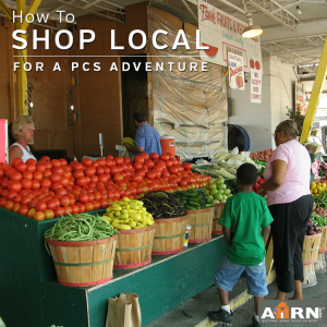 How To Shop Local For A PCS Adventure with AHRN.com
