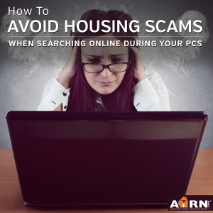 How to avoid housing scams when searching online during your PCS with AHRN.com