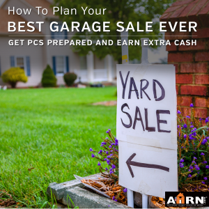 How To Plan Your Best Garage Sale Ever with AHRN.com