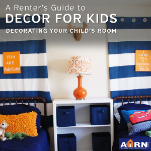 A Renter's Guide To Decorating Your Child's Room with AHRN.com
