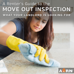 A Renter's Guide To The Move Out Inspection - what your landlord is looking for at move out from AHRN.com