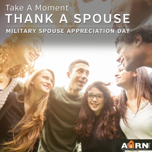 Military Spouse Appreciation Day with AHRN.com