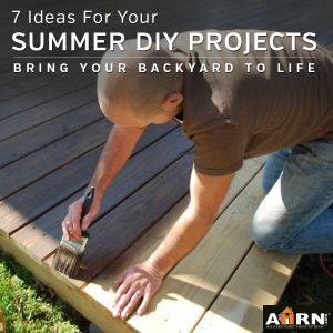 Bring Your Backyard To Life With Outdoor DIY Projects