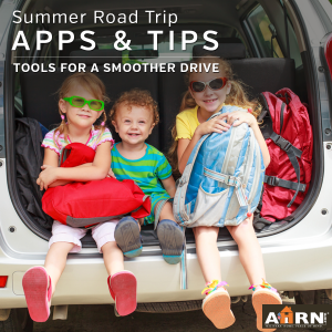 Get tools for a smoother with these Apps and Tips for your summer road trip with AHRN.com