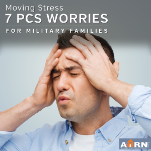 Top Seven PCS Worries of Military Families with AHRN.com