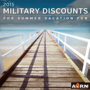 Military Discounts for summer vacation fun with AHRN.com