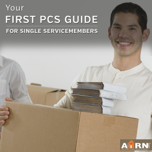 Your First PCS Guide for single service members with AHRN.com