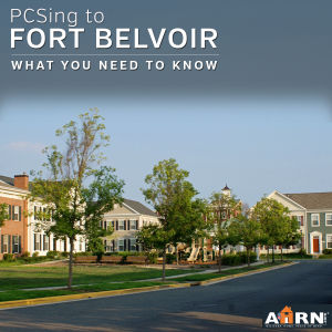 PCSing to Fort Belvoir? What you need to know with AHRN.com