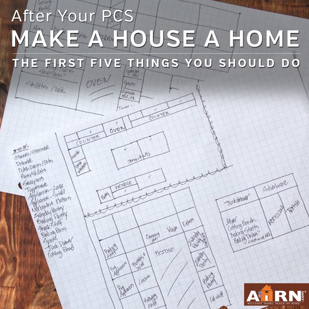 The first five things you should do to make your house a home after you PCS