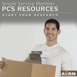 Single Service Member PCS Resources with AHRN.com