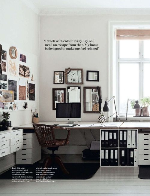 7 Tips For A Home Office That Works For You on AHRN.com