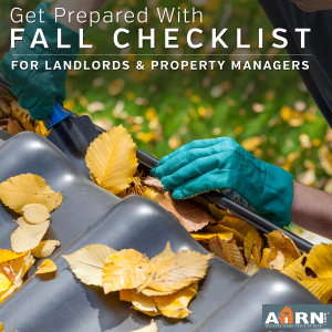 Get your rental property prepared for winter with the Fall Checklist from AHRN.com